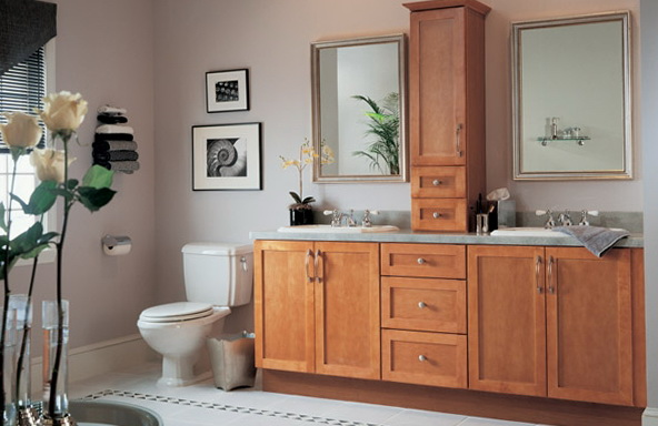 Shaker Style Cabinets Bathroom