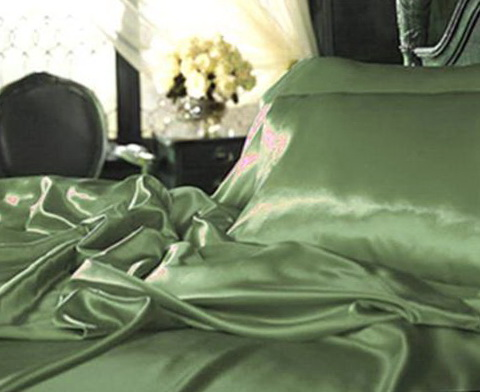 Silk Bed Sheets India