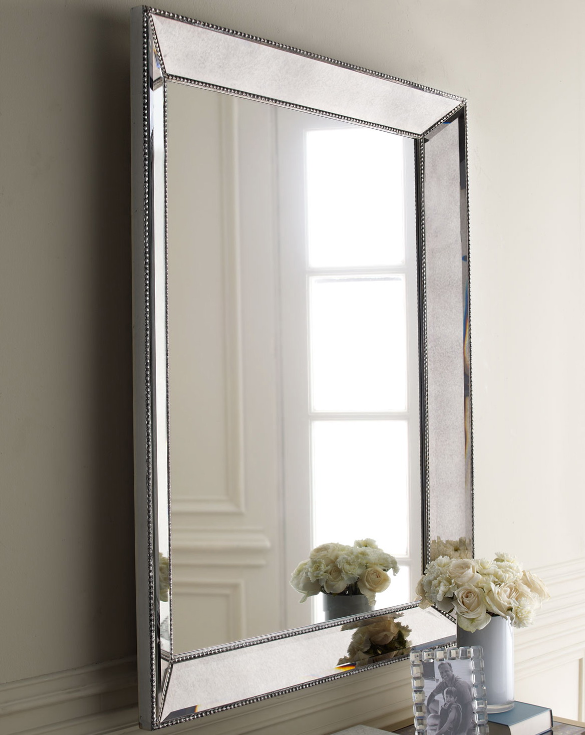 Silver Framed Bathroom Mirrors