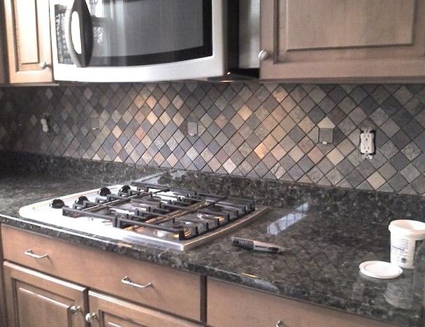 Slate Kitchen Backsplash Pictures