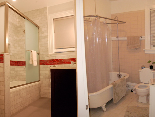 Small Bathroom Remodels Before And After Pictures