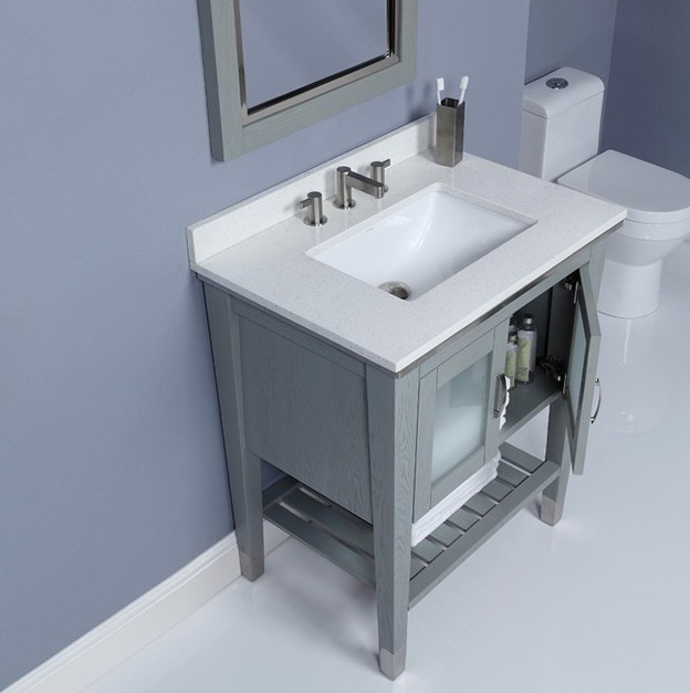 Small Bathroom Sink With Storage