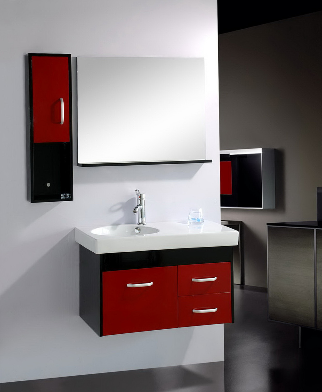 Small Bathroom Sinks With Cabinets