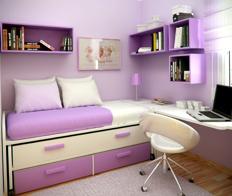 Small Bedroom Ideas For Teenage Girls