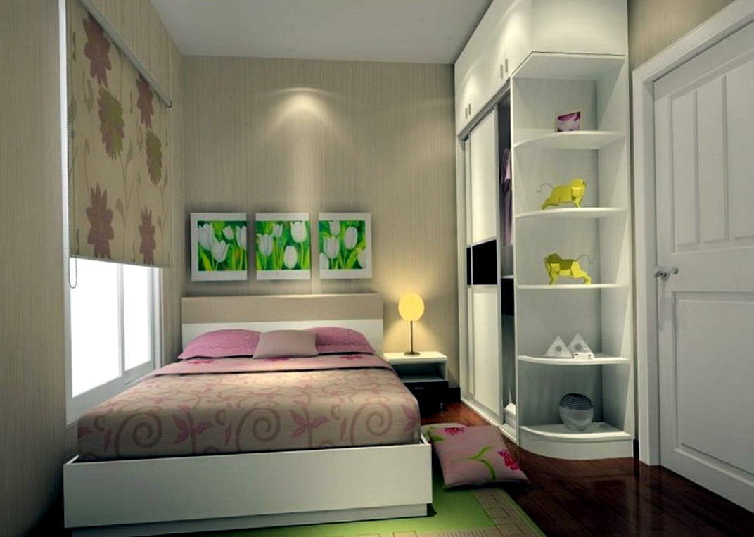 Small Bedroom Ideas With Queen Bed