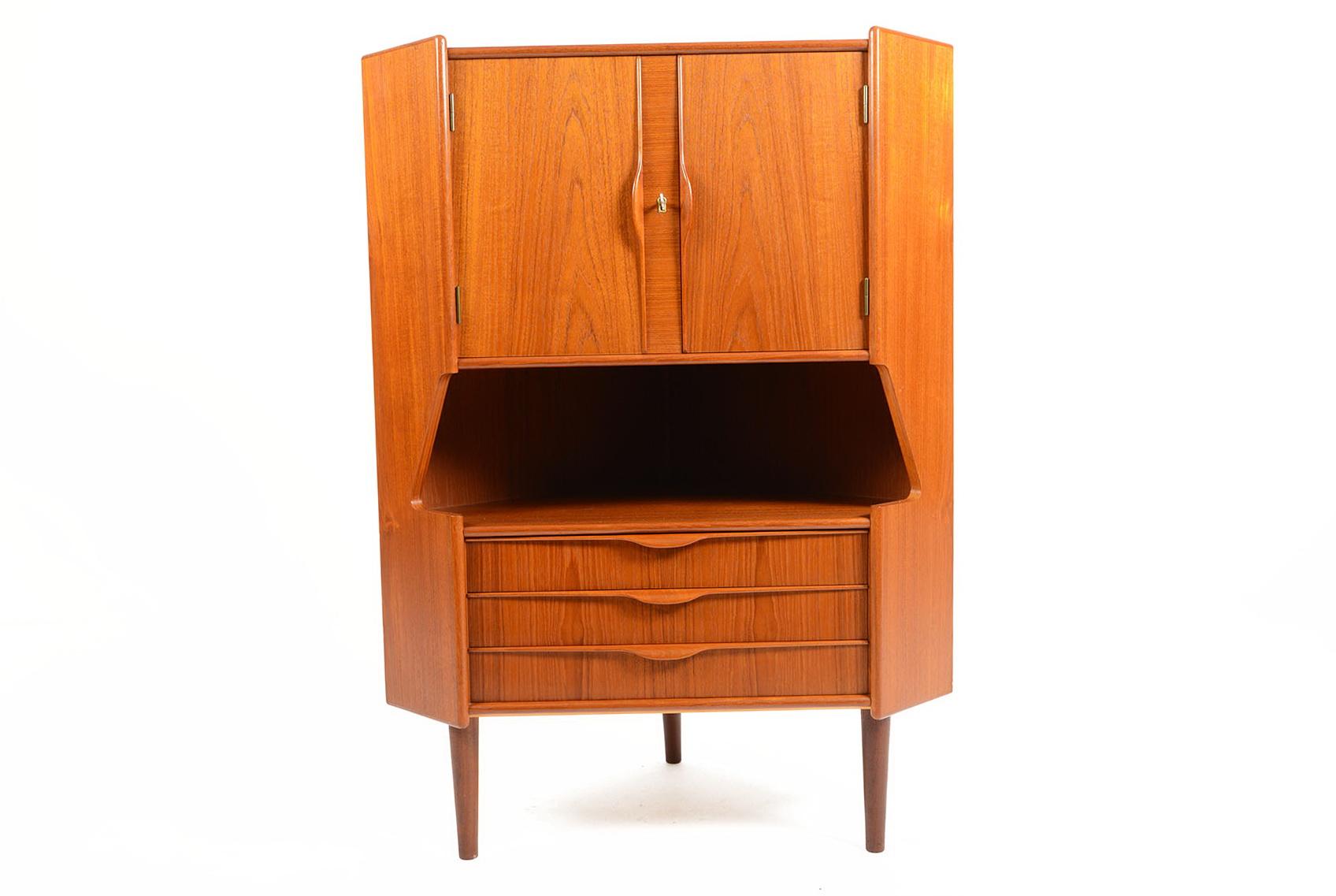 Small Corner Bar Cabinet