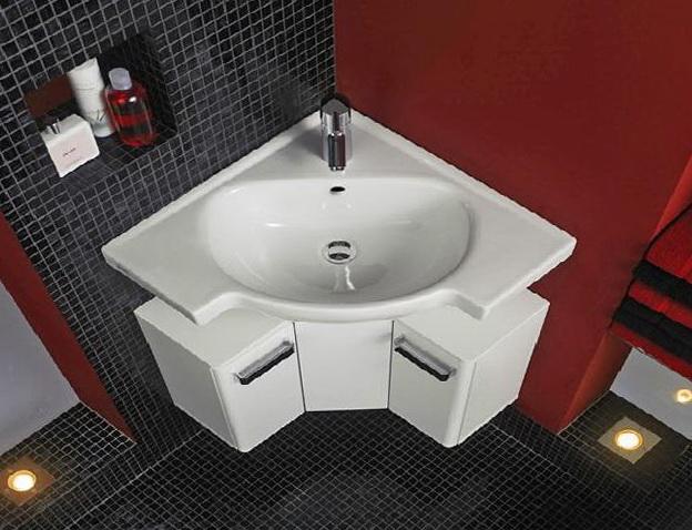 Small Corner Bathroom Vanity