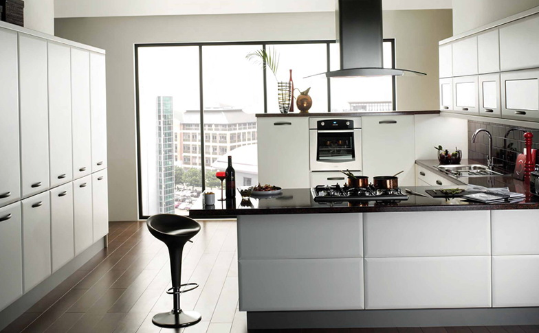 Small Kitchen Ideas Black And White