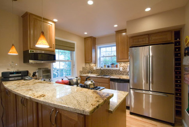 Small Kitchen Lighting Design