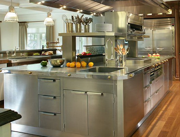 Stainless Steel Kitchen Cabinets Doors