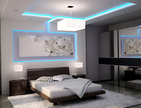 String Lights For Bedroom Ceiling