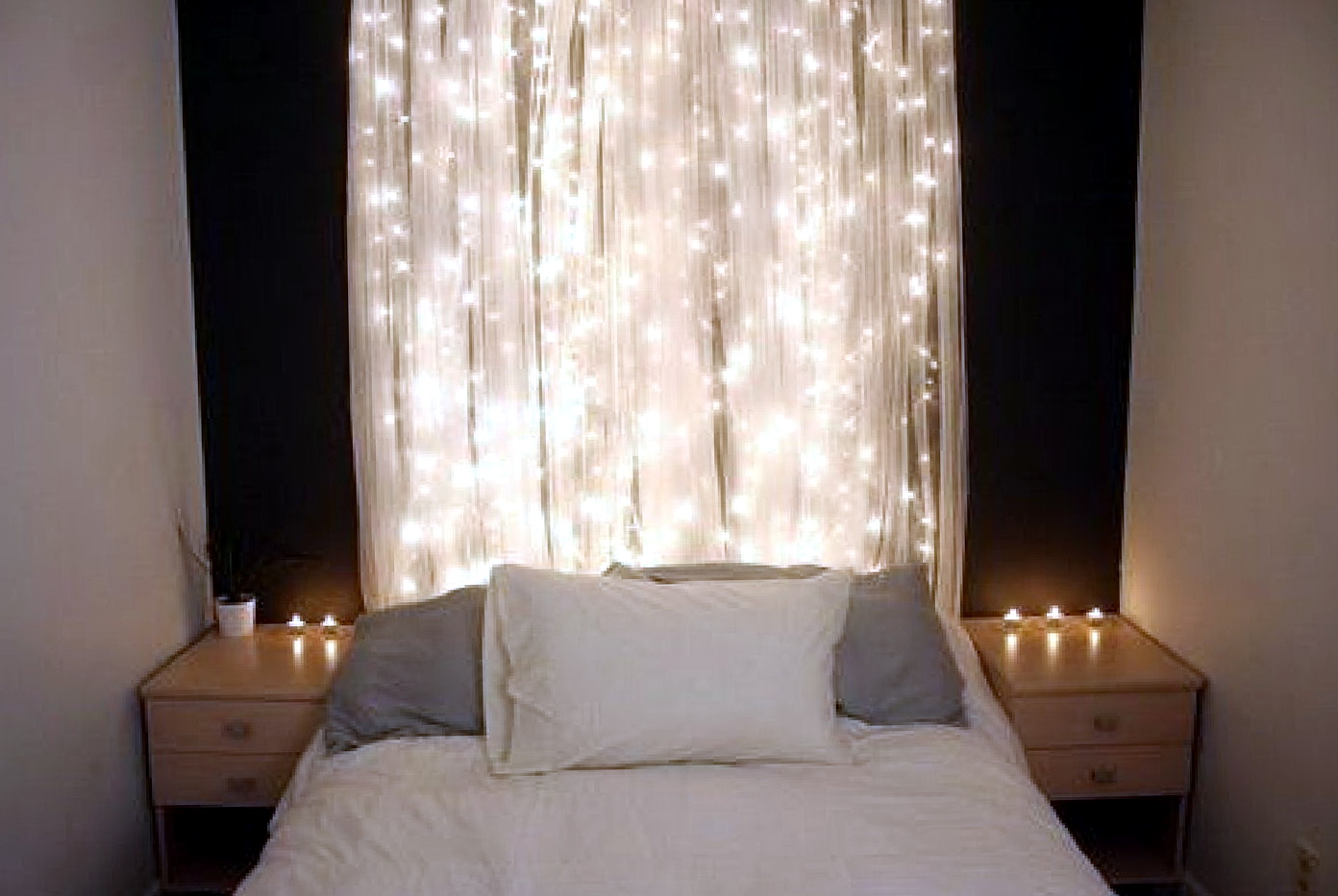 String Lights For Bedroom Decor