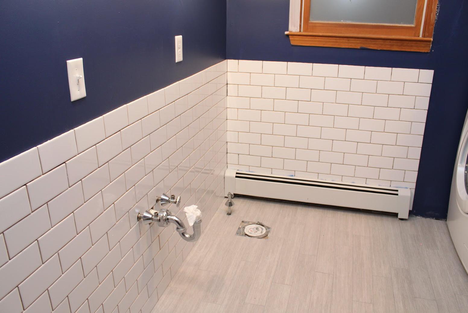 Subway Tile Bathroom Wall