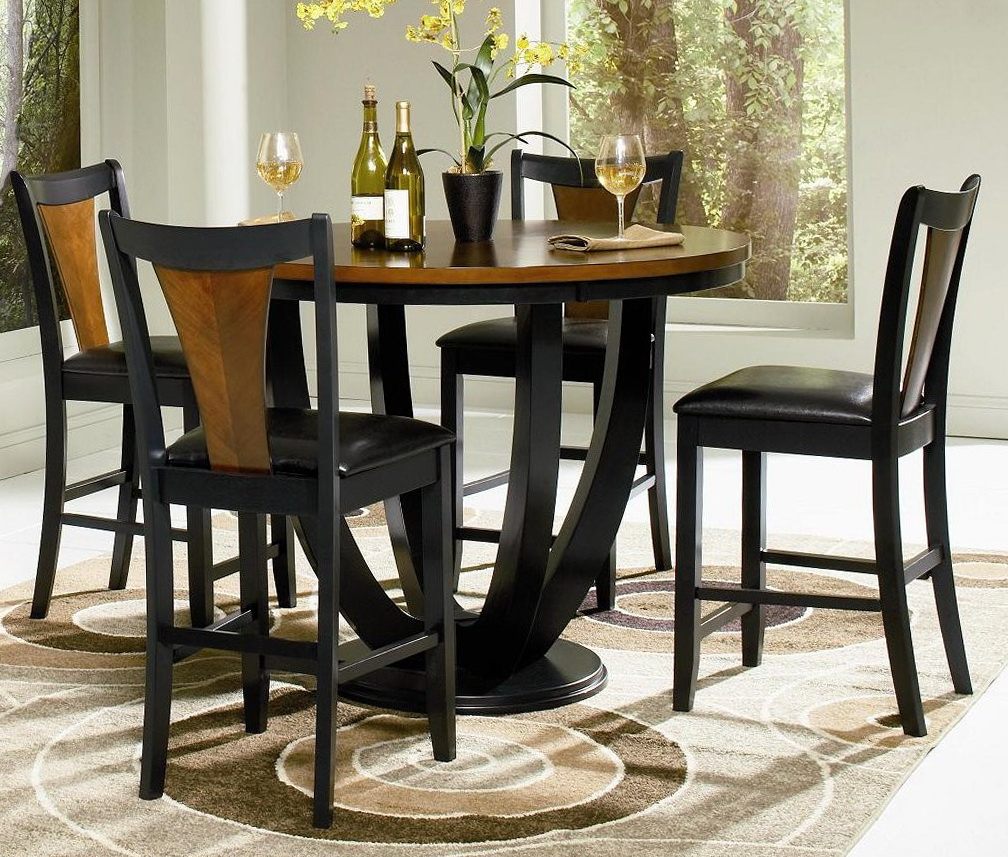 Tall Round Kitchen Table Sets