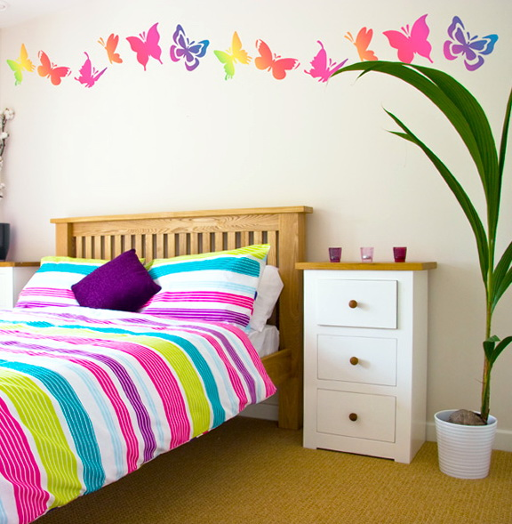 Teenage Girl Bedroom Wall Decals