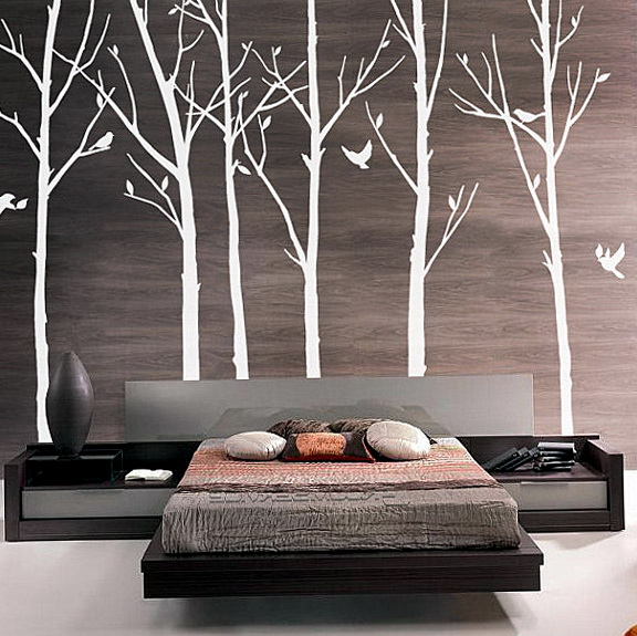 Tree Wall Decals For Bedroom