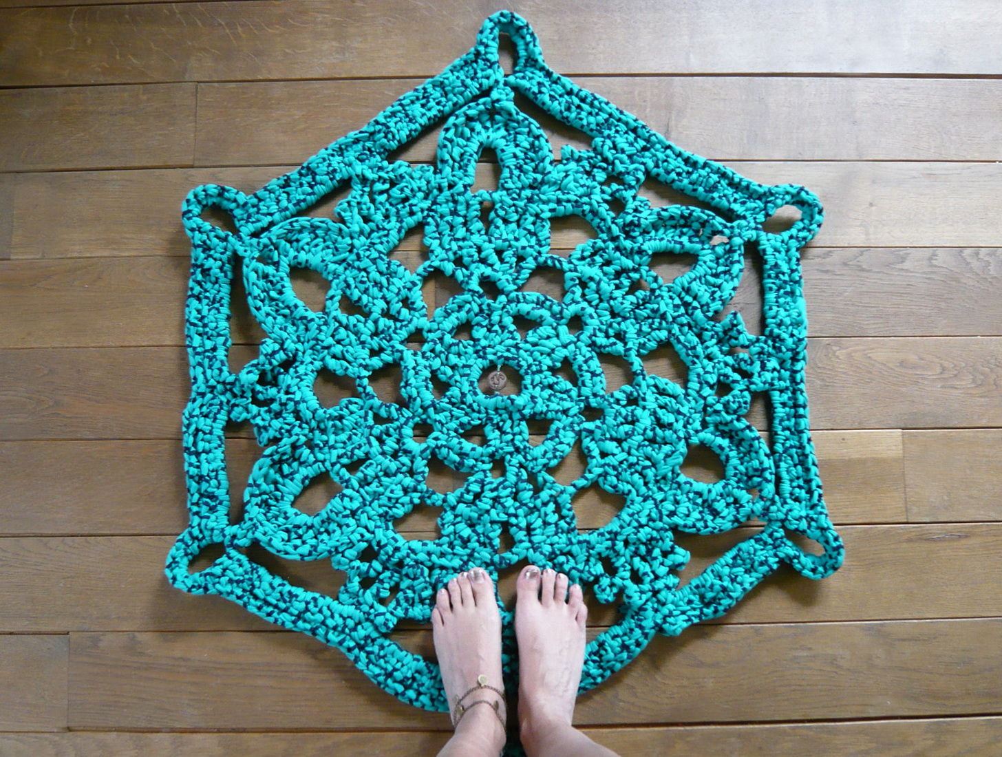 Turquoise Bathroom Rug Sets