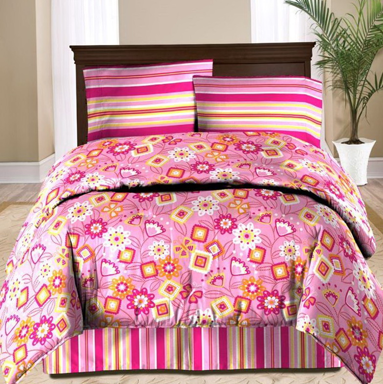 Twin Bed In Bag Sets