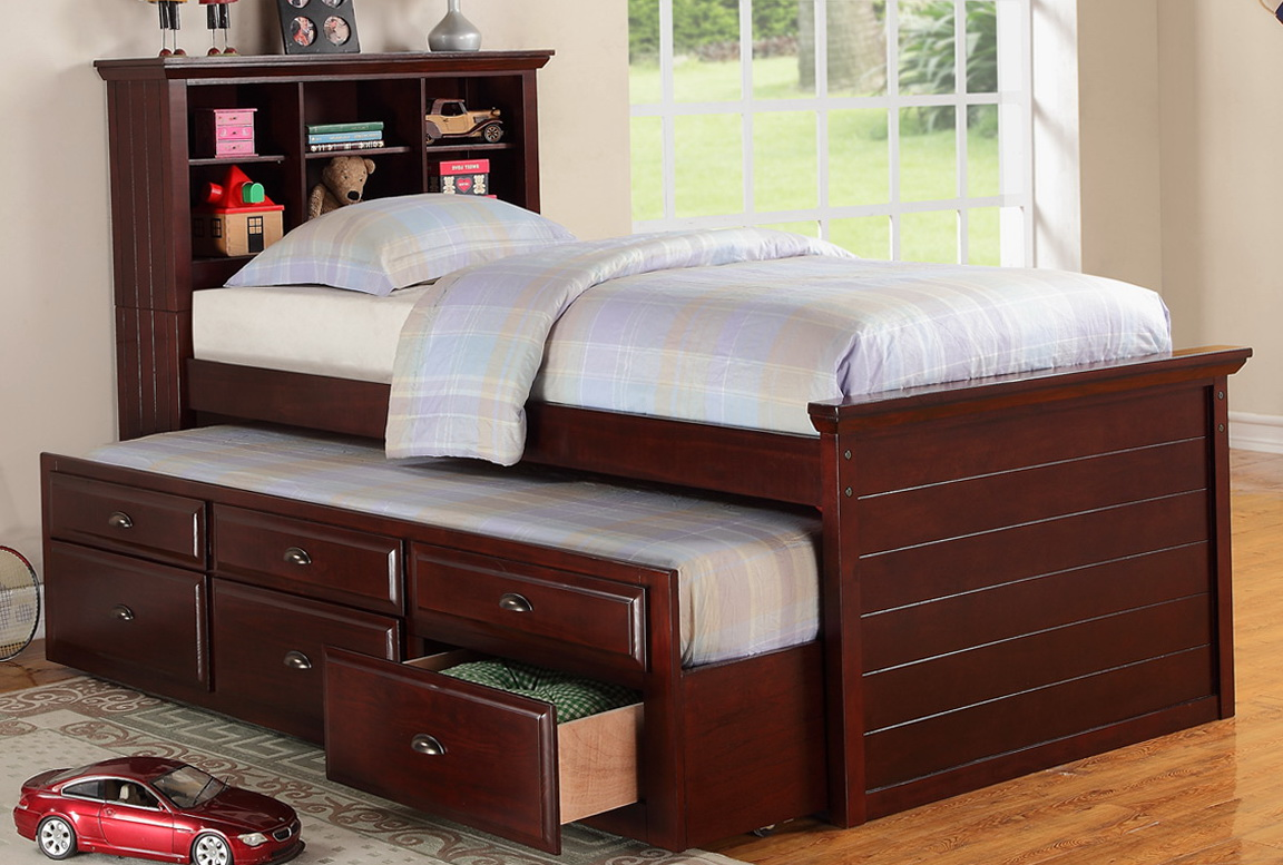 Twin Beds With Storage Drawers Underneath