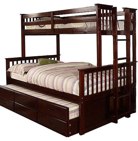 Twin Full Bunk Bed Walmart