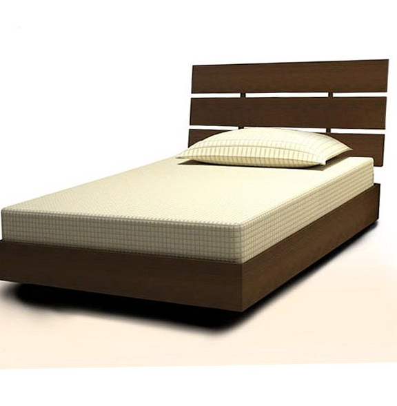 Twin Size Bed Frame With Headboard