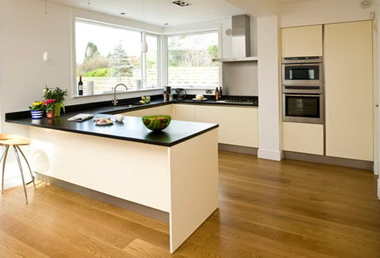 U Shaped Kitchen With Peninsula