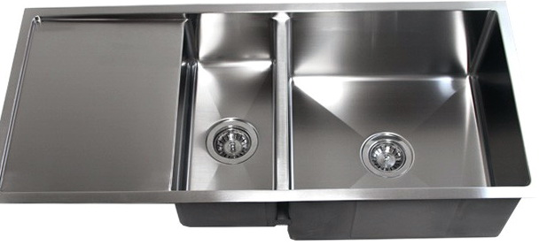 Undermount Kitchen Sinks With Drainer