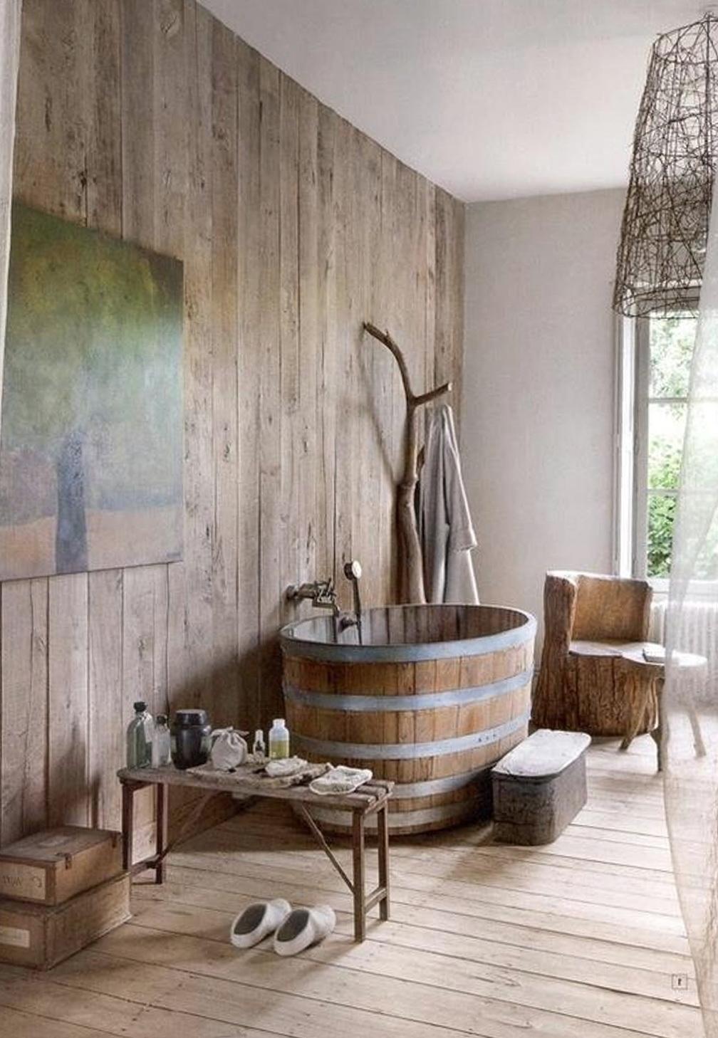 Vintage Rustic Bathroom Ideas