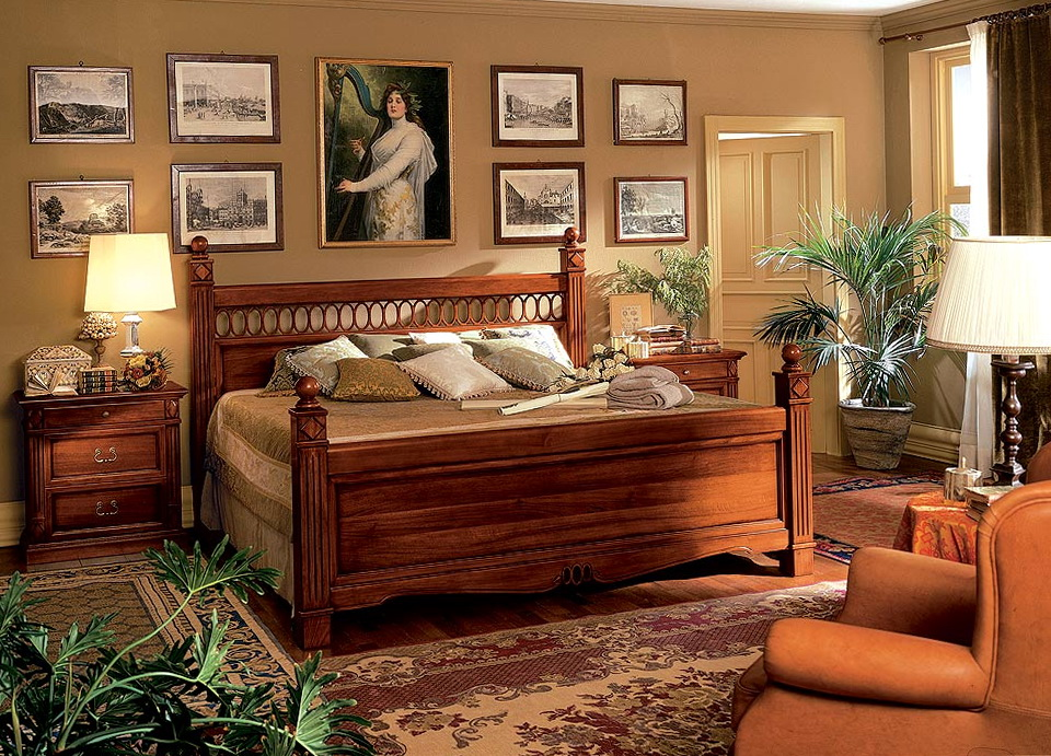 Vintage Wood Bed Frames