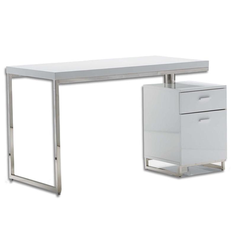 White File Cabinet Desk