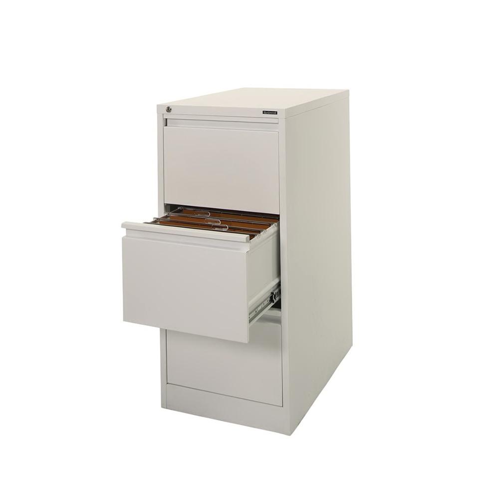 White Filing Cabinet 3 Drawer