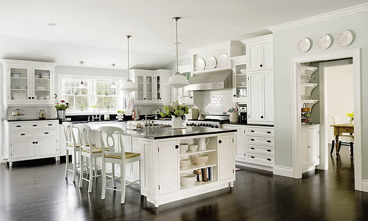 White Kitchen Island Ideas
