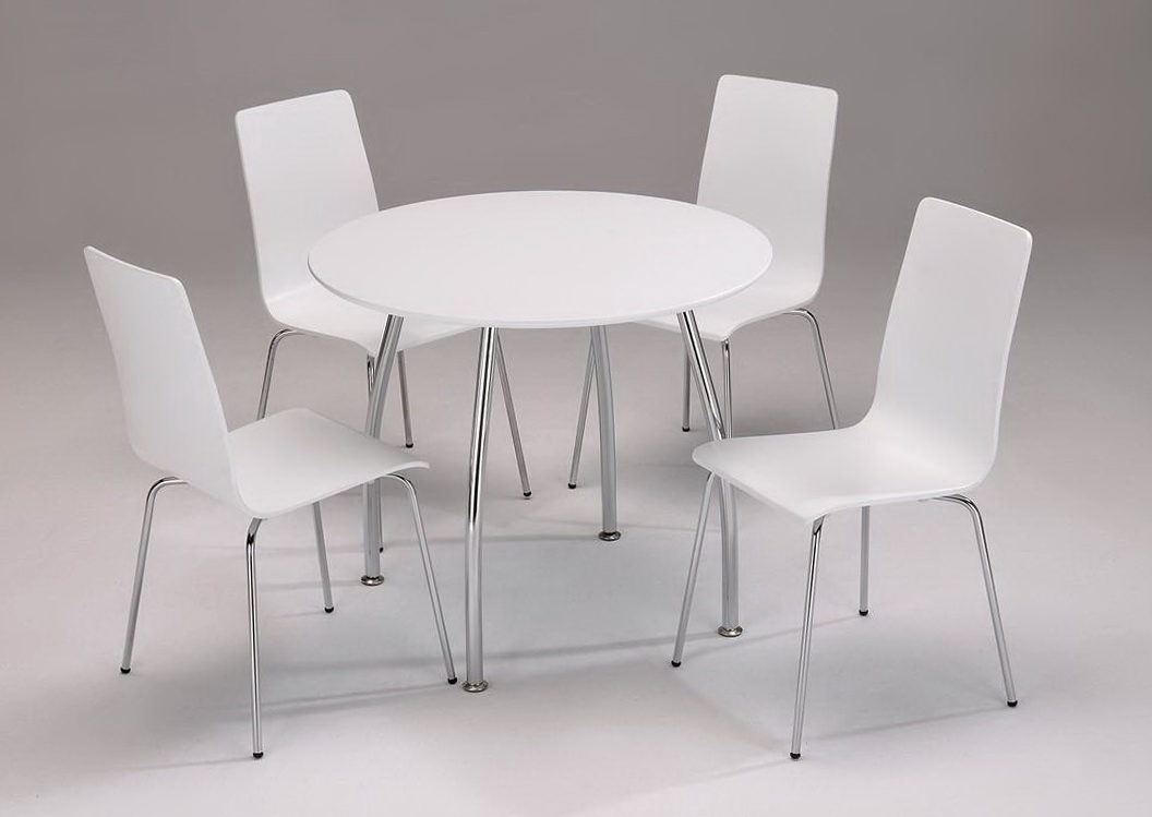 White Round Kitchen Tables