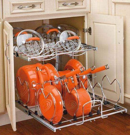 Wire Kitchen Cabinet Organizers