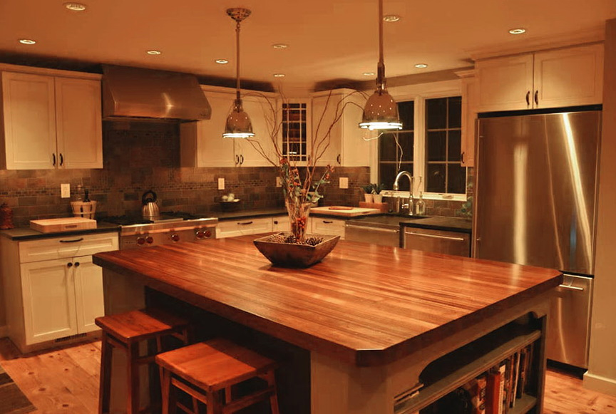 Wood Kitchen Counter Tops