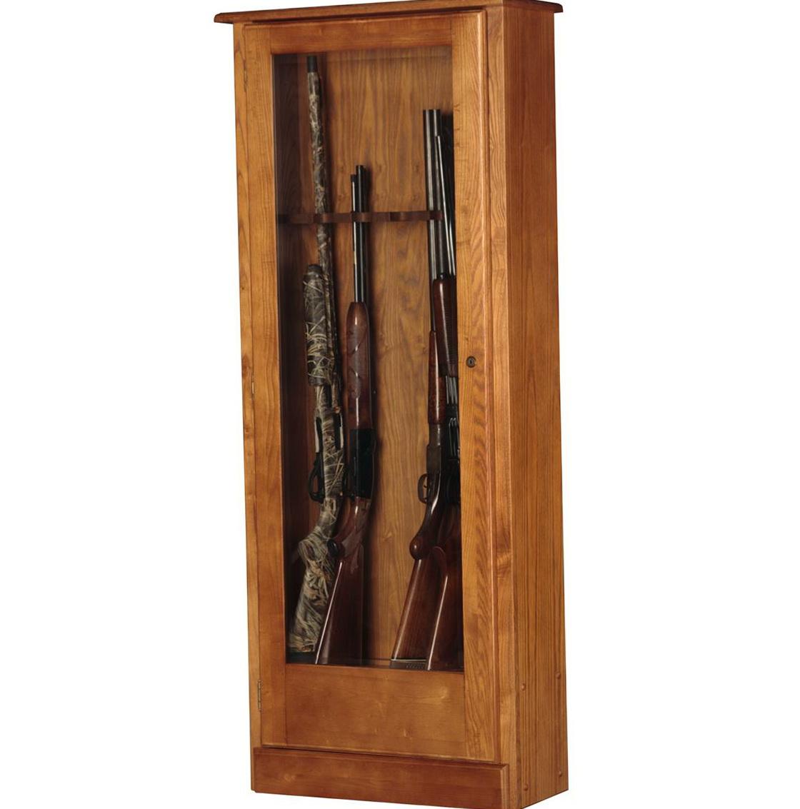 Wooden Gun Cabinet Plans