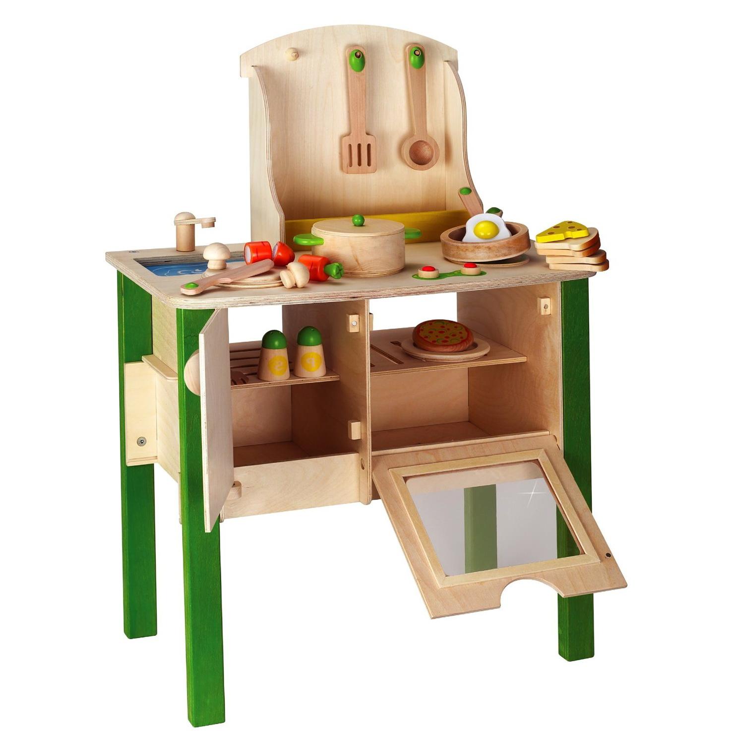 Wooden Toy Kitchen Sets