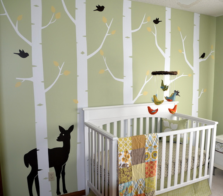 Woodland Baby Nursery Bedding