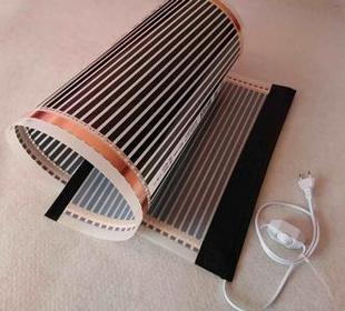 En tiendas especializadas, puede comprar una película infrarroja para un piso cálido.