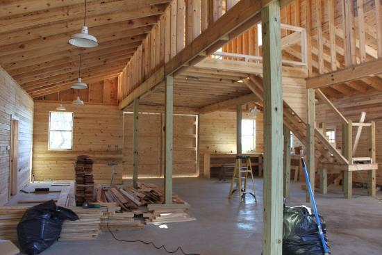 Building Shed Floor