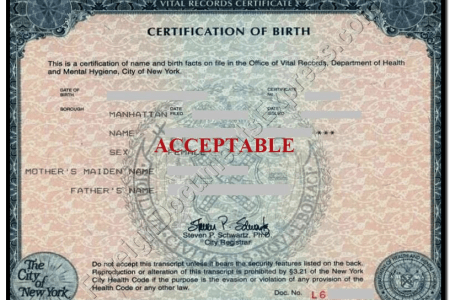certified copy of birth certificate florida » Free Professional ...