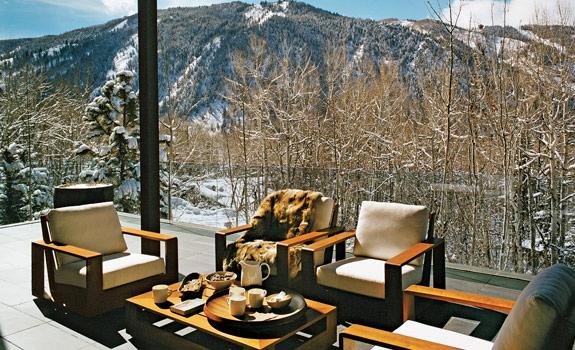Contemporary Aspen Ski Lodge Adorable Home