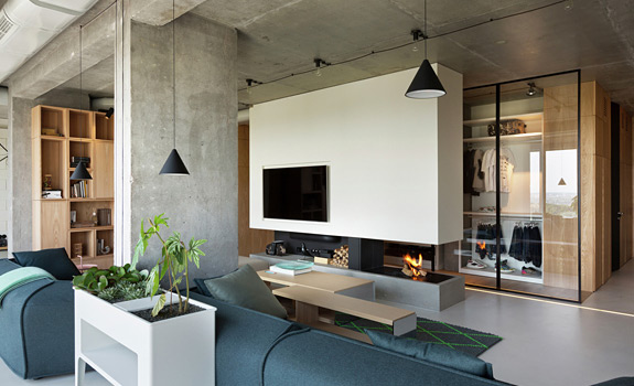Contemporary Penthouse In Kiev Adorable Home