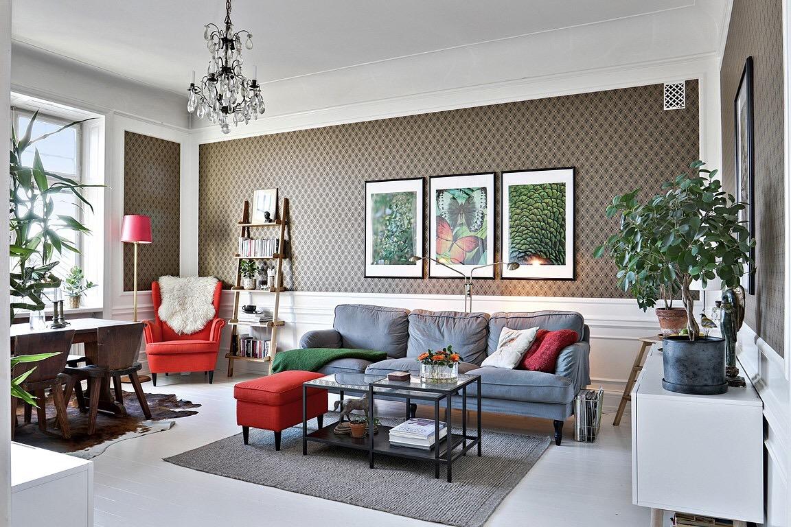 An Eclectic Scandinavian Home Adorable Home