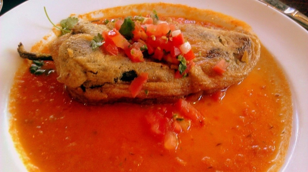 Chile Relleno ~ Stuffed Poblano Pepper