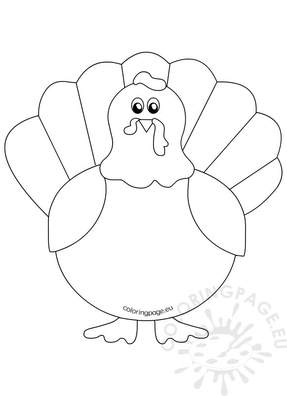 free printable turkey coloring pages # 80