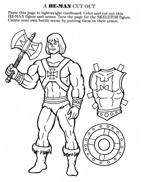 he man coloring pages # 47