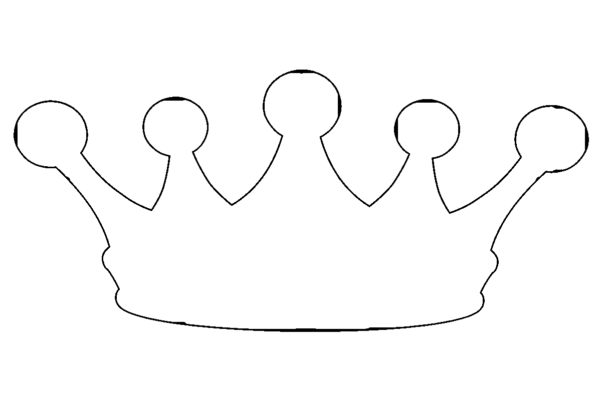 Free Coloring Pages Download 25 Princess Crown Page Images Of