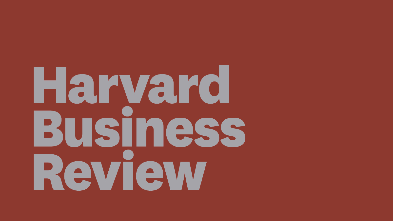 harvard business review - HD1592×896