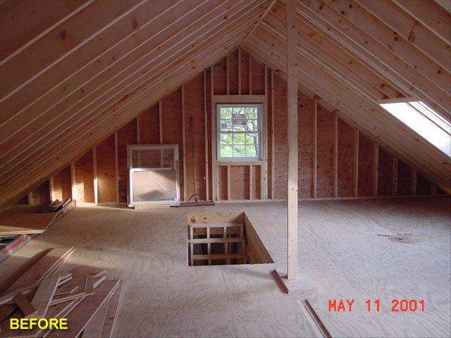 Attics Advantage Remodeling Construction Carpentry